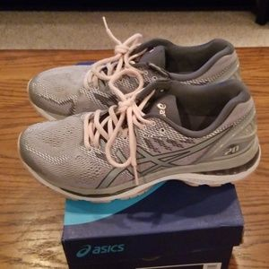 Asics Gel Nimbus 20 Grey/Pink Women's 9